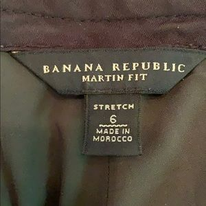 Banana Republic Pants - {Banana Republic}Sz 6 Martin Fit Stretch Slacks